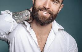 коррекция усов,бороды